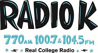 KUOM College radio station of the University of Minnesota Twin Cities