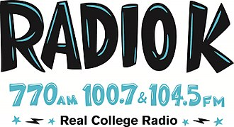 KUOM - Image: Radio K Logo (KUOM)