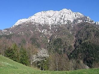 Raduha (mountain) - The western side of Raduha