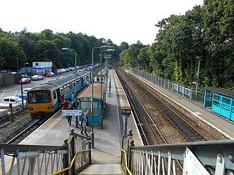 Radyr railway station - Image: Radyr railway station, August 2015