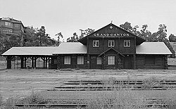 Railroad Depot, Grand Canyon National Park (Coconino County, Arizona).jpg