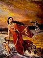 Raja Ravi Varma - Ganga and Shantanu.jpg