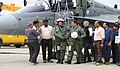 Rajnath Singh becomes the first Defence Minister to fly a Tejas (3).jpg