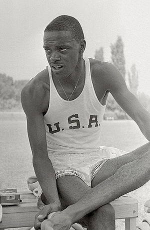 Ralph Boston - Ralph Boston at the 1960 Olympics