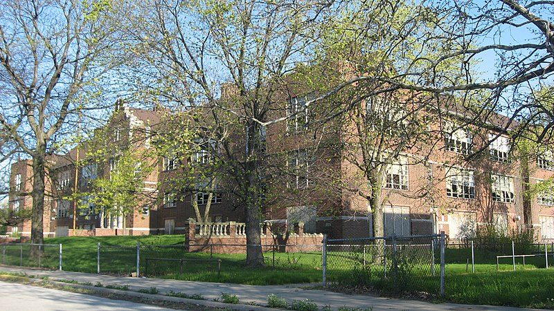 Ralph Waldo Emerson School in Gary.jpg