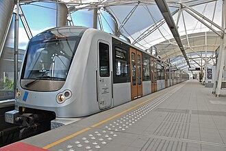 "Brussels Metro - Image: Rame ""Boa"""