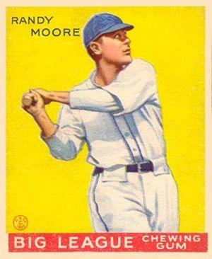 Randy Moore - Image: Randy Moore Goudeycard