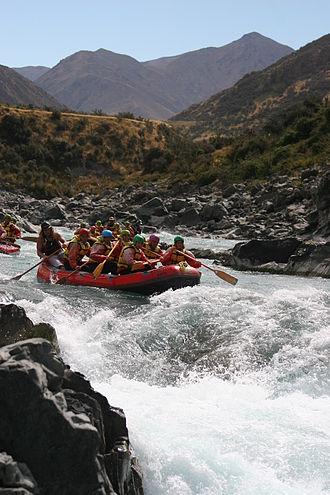 Rangitata River - Rafting on the Rangitata River in 2006