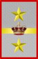 Rank insignia of tenente generale in comando d'armata of the Italian Army (1918).png