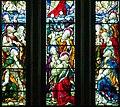 Raphoe Cathedral Church of St. Eunan Choir Window W01 Ascension Detail Apostles 2016 09 02.jpg