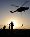 Rapid Roping on HMS Bulwark MOD 45150172.jpg