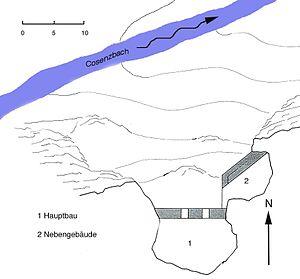 Rappenstein Castle - Plan of Rappenstein Castle