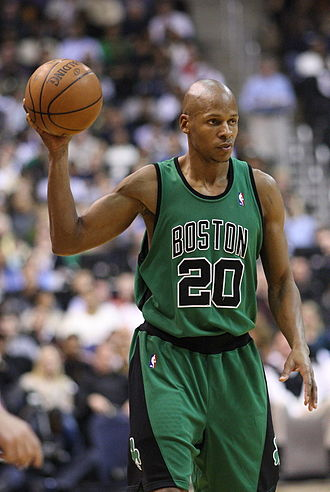 1996 NBA draft - Ray Allen, 5th pick of the Minnesota Timberwolves (traded to Milwaukee Bucks)