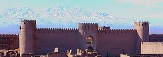 Sasanian architecture - Rayen Castle