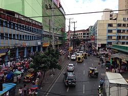 Recto Avenue running through Divisoria.