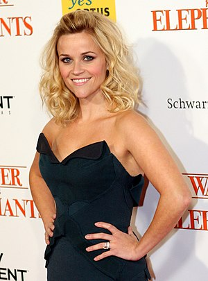 English: Reese Witherspoon at the Water for El...