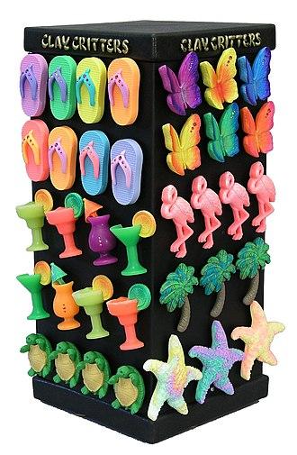 Refrigerator magnet - Refrigerator souvenir magnet display