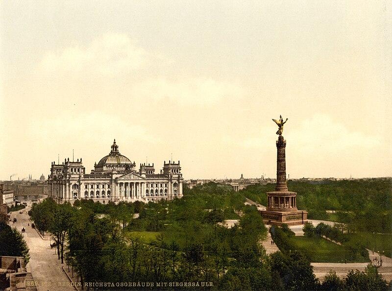 Reichstag und Siegess%C3%A4ule um 1900.jpg