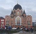 Rekonstruierte neue Synagoge Kaliningrad am Vorabend der Eröffnung.jpg