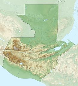 2012 Guatemala earthquake is located in Guatemala
