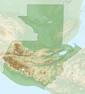 Sierra de las Minas mountain range
