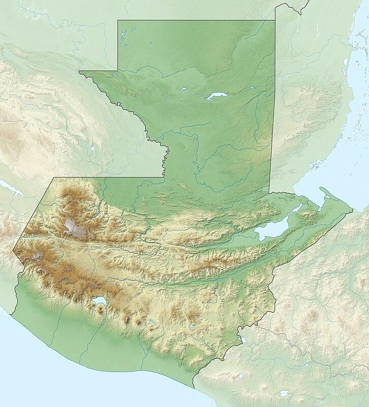 Sablon Lokacijska Karta Gvatemala Wikiwand