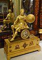 Rellotge de sobretaula amb figura d'emperador, palau del marqués de Dosaigües.JPG
