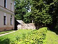 Remains of old wall July 2011.jpg
