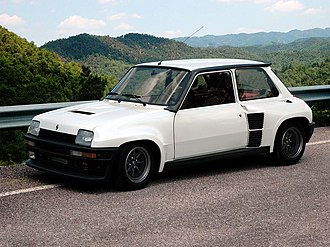 Hot hatch - Renault 5 Turbo