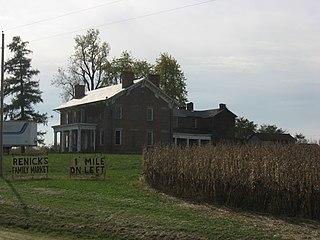 Renick Farm (South Bloomfield, Ohio) building in Ohio, United States