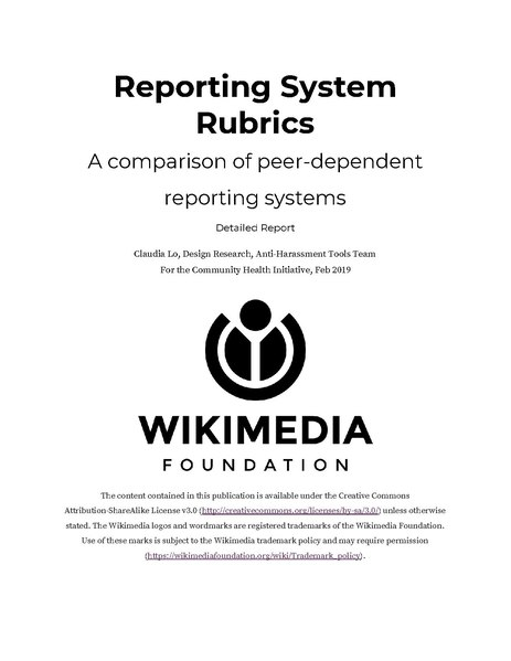 File:Reporting System Rubric, Detailed Report.pdf