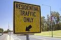 Residential Traffic Only sign.jpg