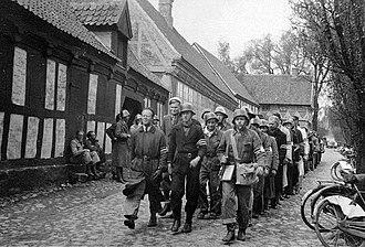5 Kolonne - Resistance group 5. Kolonne in The Old Town museum