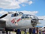 Restored B-25J Take-off Time at an air show.JPG