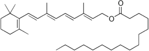 chemical structure of retinyl palmitate