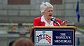 Retired U.S. Air Force Brig. Gen. Wilma L. Vaught speaks during a Memorial Day ceremony at the Women in Military Service for America Memorial in Arlington, Va., May 27, 2013 130527-D-KC128-006.jpg