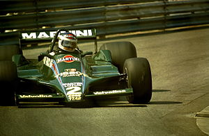 Carlos Reutemann - Reutemann driving the Lotus 79 at the 1979 Monaco Grand Prix