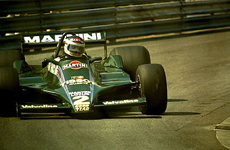 1979 Monaco Grand Prix - Carlos Reutemann finished third in a Lotus 79.