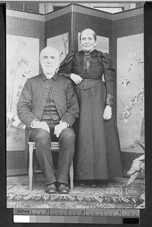 Charles Hartwell - Rev. and Mrs. Charles Hartwell in Foochow, ca. 1902
