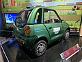 Reva car, Edinburgh, 2006, hydrogen powered transport pic1.JPG