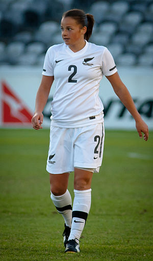 Ria Percival - Percival playing for New Zealand in 2011.