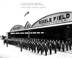 Airglades Airport - Image: Riddle Field FL RAF Cadets on Parade