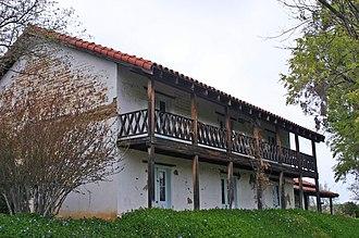 San Miguel, San Luis Obispo County, California - Image: Rios Caledonia Adobe East Side 2