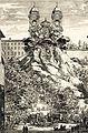 Riproduzione degli apparati festivi allestiti da Bernini e Giovan Paolo Schor a Trinità dei Monti per la nascita del Delfino di Francia.jpg