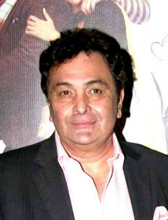 Rishi Kapoor - Kapoor at the premiere of film Do Dooni Chaar