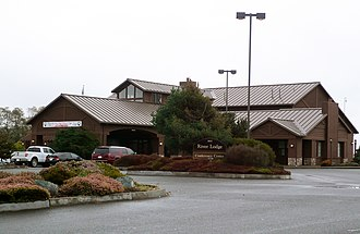 Fortuna, California - River Lodge attracts meetings and events.