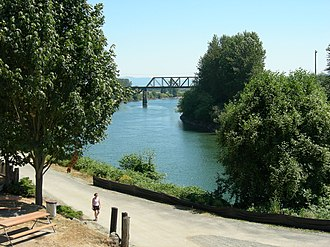 Snohomish River - Snohomish River at Snohomish