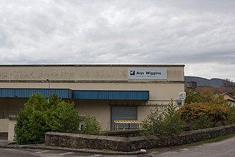 Arjo Wiggins - Arjo Wiggins mill at Isère, France