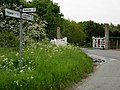 Road Junction and Level Crossing west of Leiston - geograph.org.uk - 177089.jpg