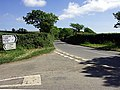 Road junction on the B3289 - geograph.org.uk - 443052.jpg